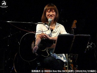 蓮香亜衣【Part.1】@ INDIA live the SKY (2010/01/23)